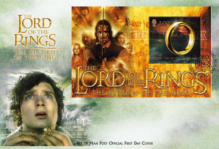 Lord of the Rings: Mini Sheet, Frodo and the Ring