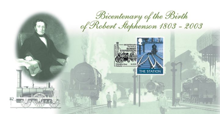 Robert Stephenson, Bicentenary of Birth
