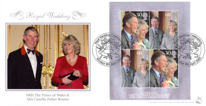 Royal Wedding: Miniature Sheet, Charles & Camilla