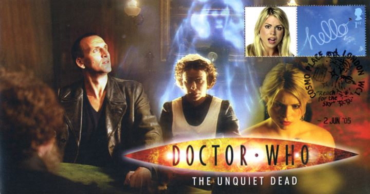 Doctor Who No.4, The Unquiet Dead