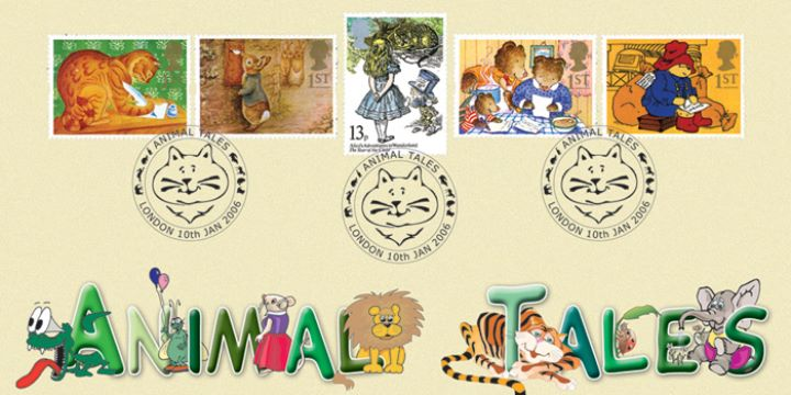 Traditional Animal Tales, Collector Stamps