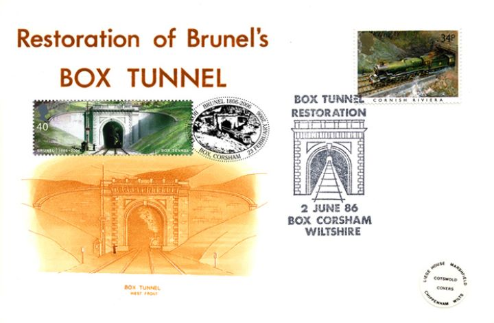 Brunel, Box Tunnel Double-Dated