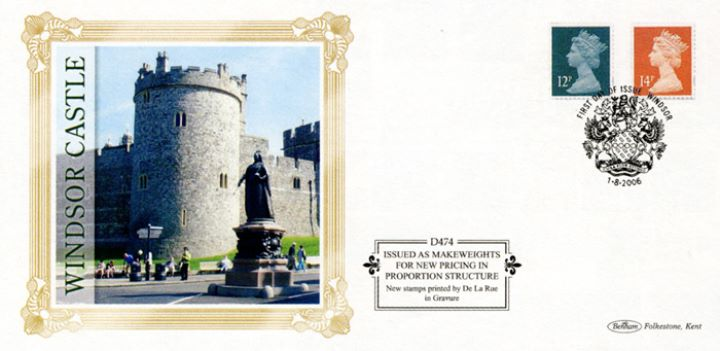 Machins (EP): 12p, 14p, Windsor Castle