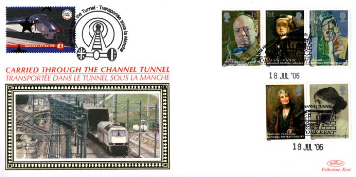 National Portrait Gallery, Historic Channel Tunnel