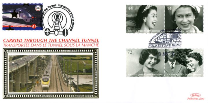Queen's 80th Birthday, Historic Channel Tunnel