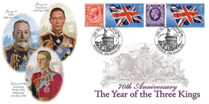 Year of the Three Kings, George V, Edward VIII, and George VI