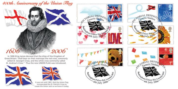 Special Moments: Generic Sheet, The Union Flag