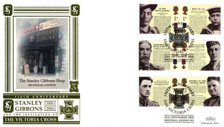Victoria Cross, Stanley Gibbons - 150th Anniversary