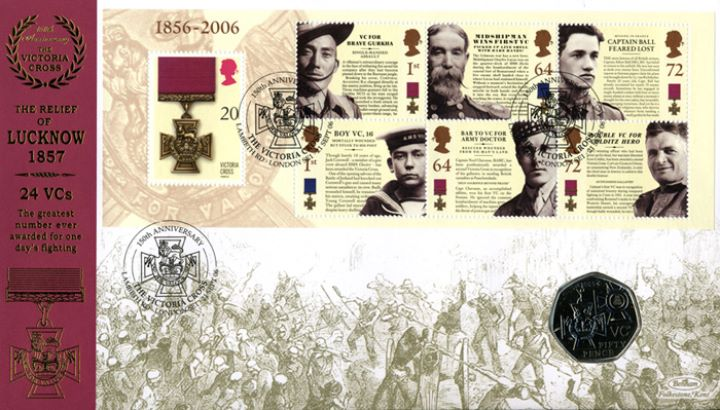 Victoria Cross: Miniature Sheet, The Relief of Lucknow