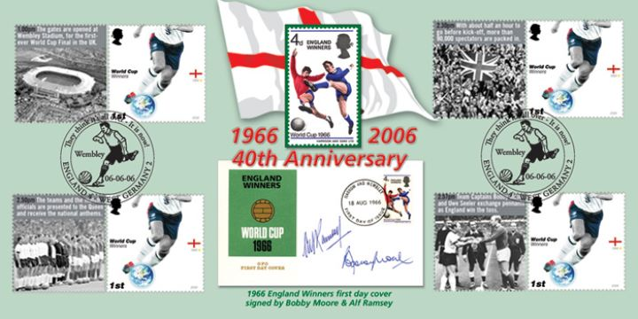 World Cup Winners: Generic Sheet, 1966 England Winners