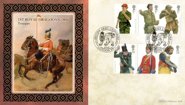 Army Uniforms, 1st Royal Dragoons