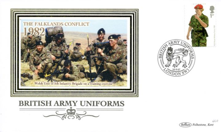 Army Uniforms, The Falklands Conflict