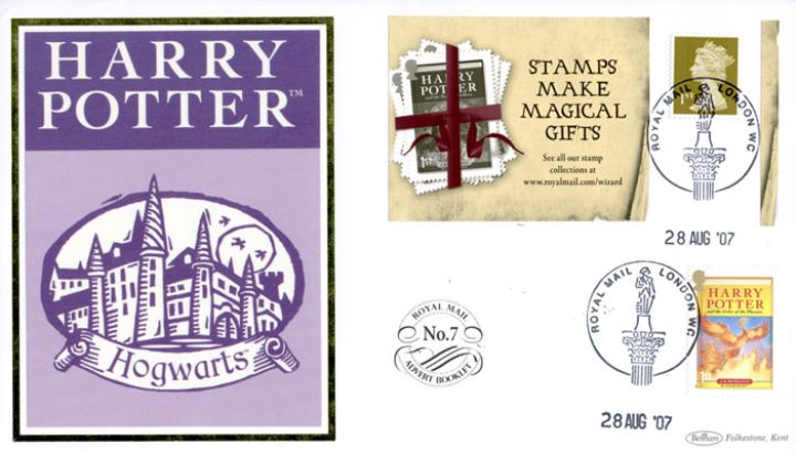 Self Adhesive: 6 x 1st Advert (Harry Potter), Hogwarts School