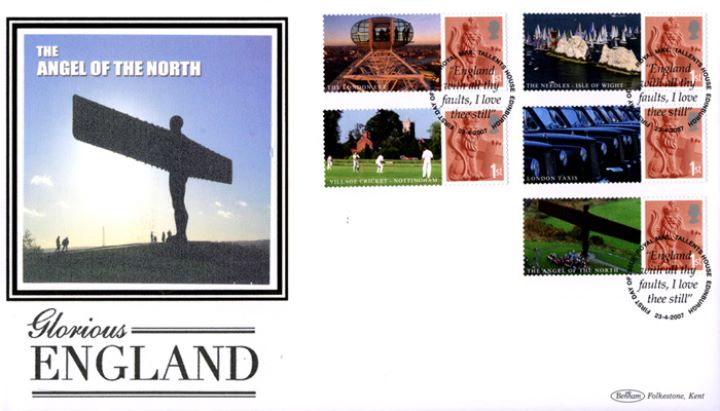 Glorious England: Generic Sheet, The Angel of the North