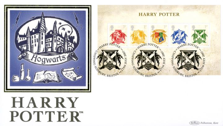 Harry Potter: Miniature Sheet, Hogwarts