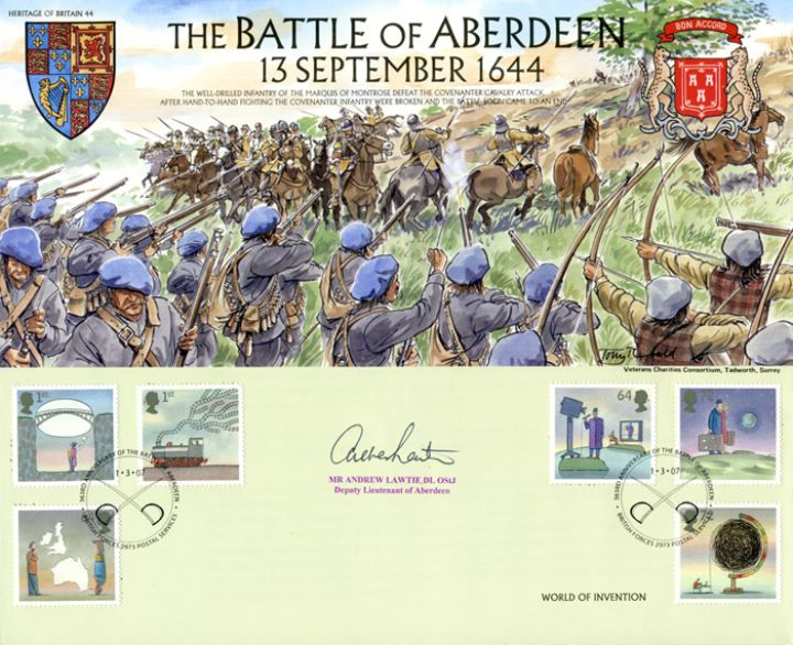 World of Invention, The Battle of Aberdeen