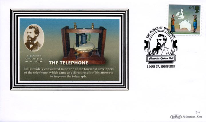 World of Invention, Alexander Graham Bell - The Telephone