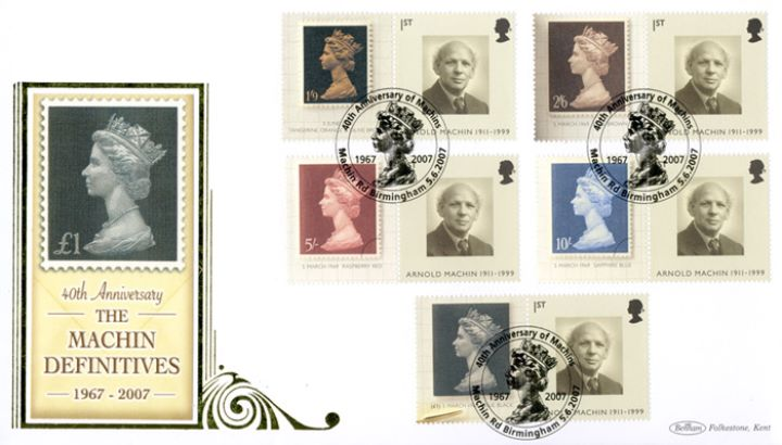 Machin 40 Years: Generic Sheet, £1 Definitive