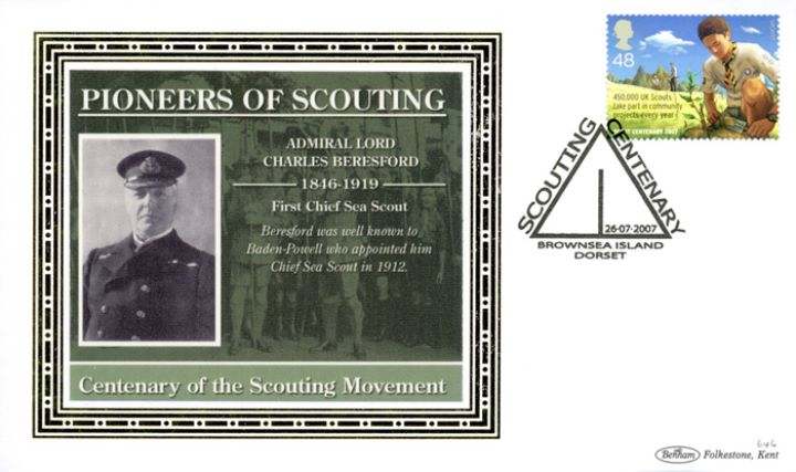 Scouts, Admiral Lord Charles Beresford