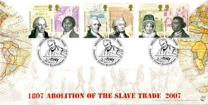 Abolition of the Slave Trade, Two Continents