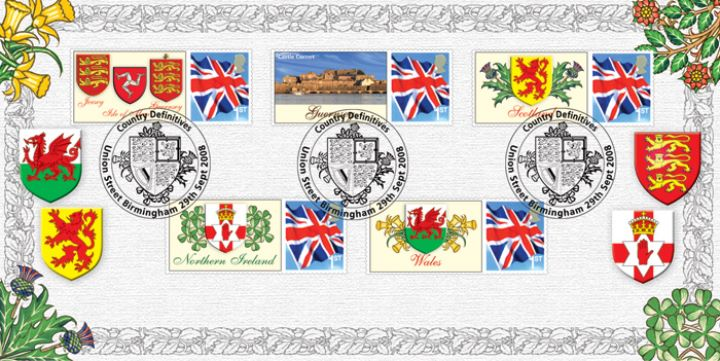 50th Anniversary of Regional Stamps, Stamp Labels from Sheet