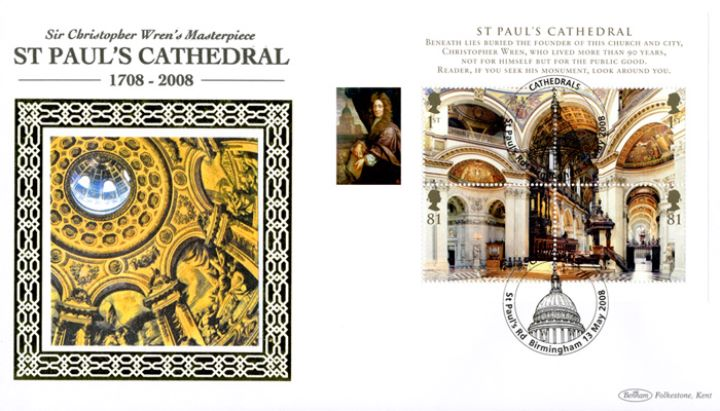 Cathedrals: Miniature Sheet, St. Paul's Cathedral