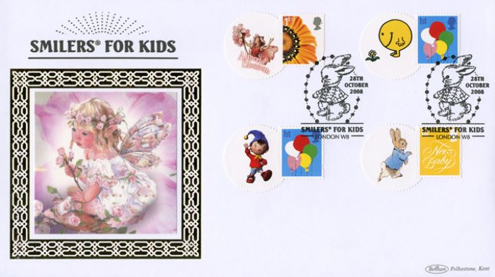 Smilers for Kids: Stamp Set 2008, Flower Fairy