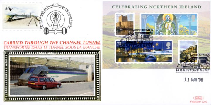 Celebrating Northern Ireland: Miniature Sheet, Historic Channel Tunnel