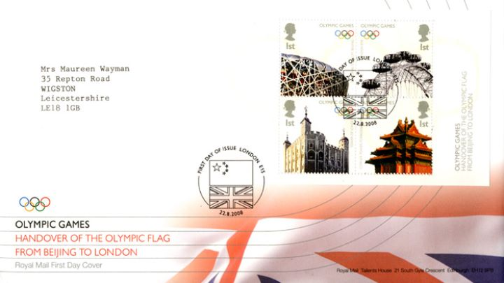 Olympics: Miniature Sheet, Union Flag
