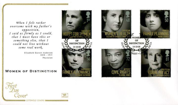 Elizabeth Garrett Anderson Quotes: Women Of Distinction, Quote Form Elizabeth Garrett