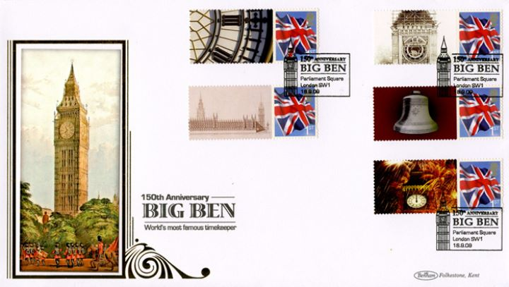 Big Ben [Commemorative Sheet], Parliament