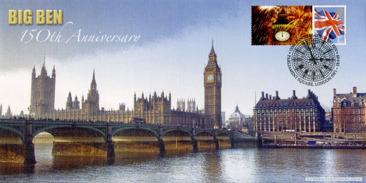 Big Ben [Commemorative Sheet], Westminster