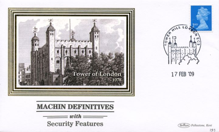 Machins (EP): Low Values Security Features, Tower of London
