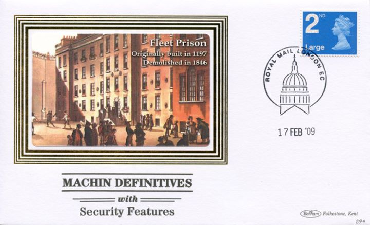 Machins (EP): Low Values Security Features, Fleet Prison