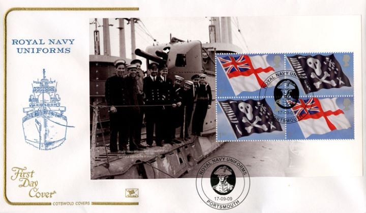 PSB: Navy Uniforms - Pane 4, Royal Navy Ship