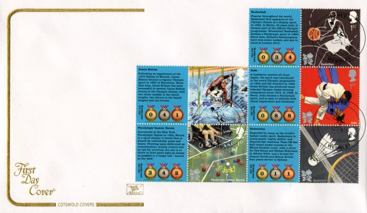 Olympic Games 1 [Commemorative Sheet], Sporting Disciplines