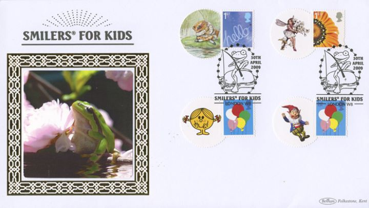 Smilers for Kids: [Stamp Set] 2009, Frog