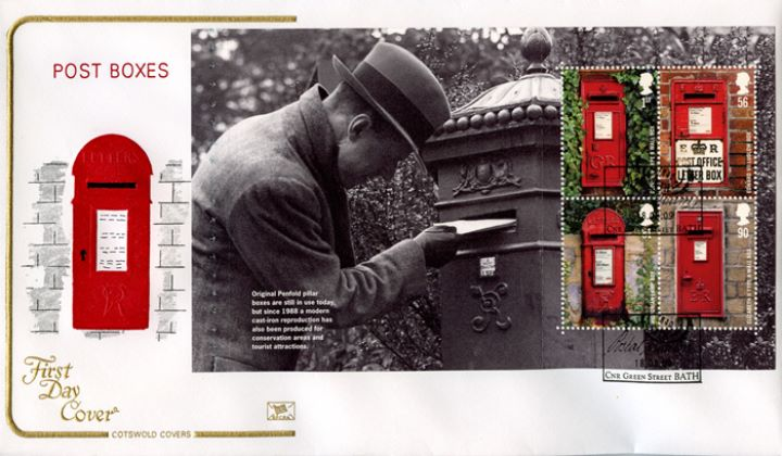 PSB: Post Boxes - Pane 3, Penfold Pillar Box