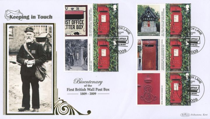 Post Boxes: Generic Sheet, Victorian Postman