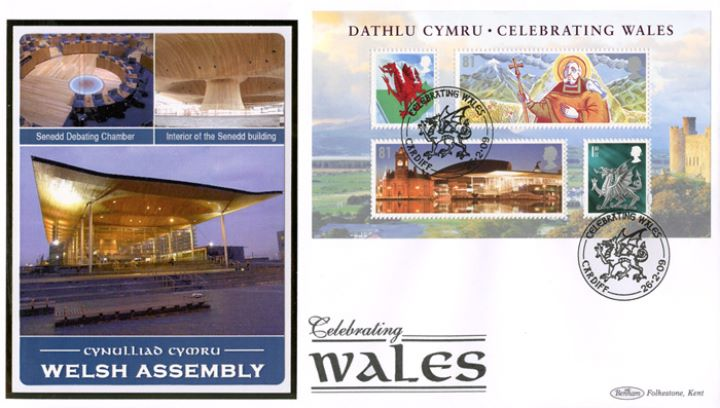 Celebrating Wales: Miniature Sheet, Welsh Assembly