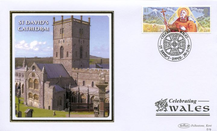 Celebrating Wales: Miniature Sheet, St David's Cathedral