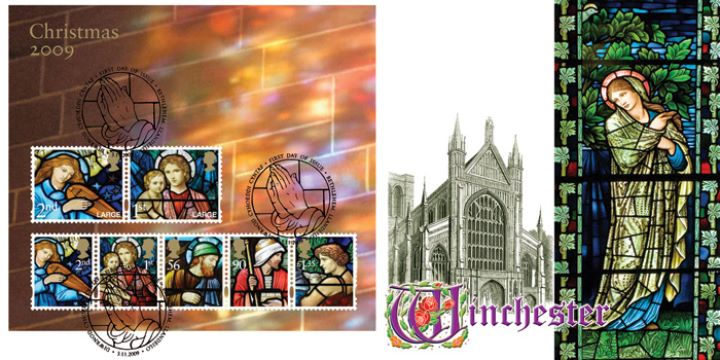 Christmas 2009: Miniature Sheet, Winchester Cathedral