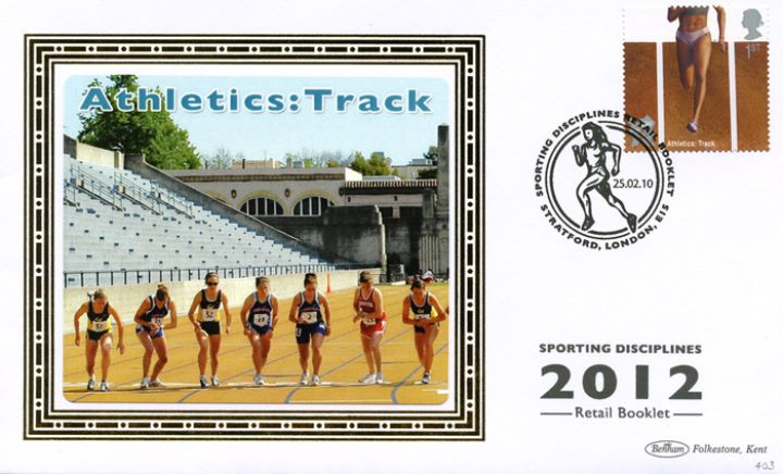 Self Adhesive: Olympic Games: Book No. 2, Athletics: Track