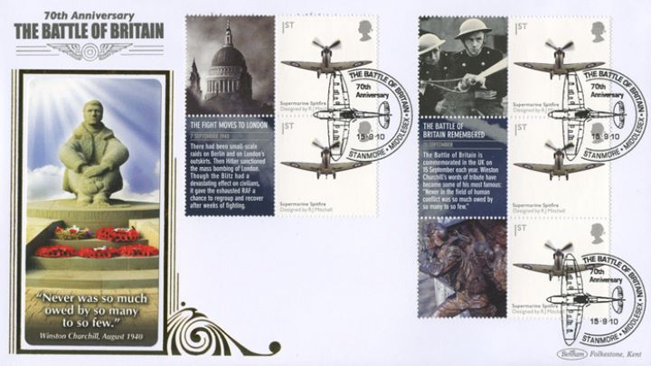 Battle of Britain: Generic Sheet, Statue of Fighter Pilot