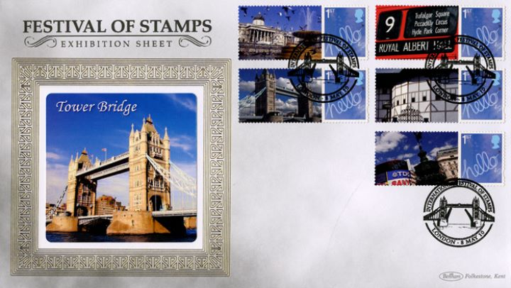 Festival of Stamps: Generic Sheet, Tower Bridge