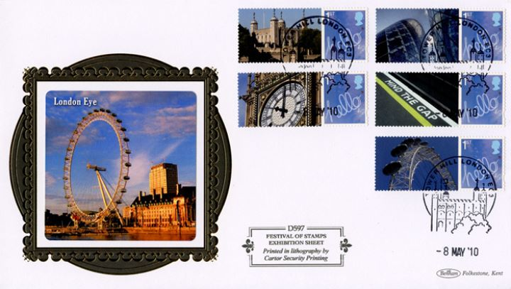 Festival of Stamps: Generic Sheet, London Eye