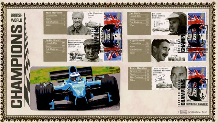 Grand Prix [Commemorative Sheet], British World Champions