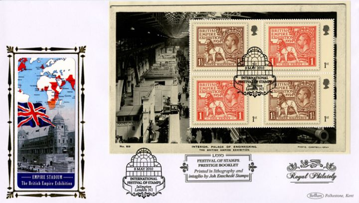 PSB: Festival of Stamps KGV - Pane 3, Empire Stadium