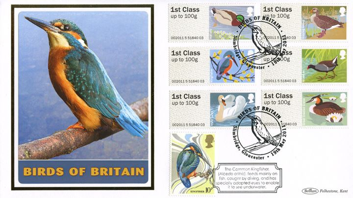 Birds of Britain: Series No.3, Kingfisher