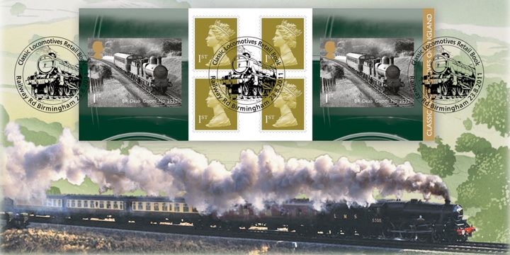 Self Adhesive: Classic Locomotives (1), Full Steam Ahead